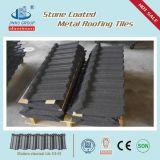 Fait dans la tuile de toit enduite en métal de pierre de matériaux de toit de la Chine