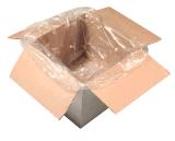 Doublures réutilisées colorées bon marché de carton de décharge de PE pour des ordures remplaçables