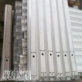 Het Profiel van het aluminium voor Industrie met CNC van het Ponsen het Machinaal bewerken machinaal wordt bewerkt die