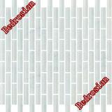 Mosaik-Electro-Optic Glanz-Streifen-Weiß (MGABB01)