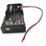 Suporte de bateria tipo AA com cabo