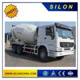 Cimc HOWO 트럭 포좌 6X4 6m3 구체 믹서 트럭 (G06ZZ)