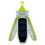 Draagbare Opvouwbare LEIDENE Lichte &Solar Navulbare Waterdichte LEIDENE van de Lantaarn USB Lichte Lantaarn voor het Reizen/het Kamperen/Wandeling