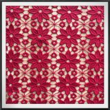 Bordados de Flores Guipure Eight-Petal tecido de malha de Renda