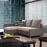 Классический стиль Lift-Draw Угловой диван - кровать с системой хранения данных