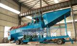 Machine de trommel d'extraction de l'or de fleuve de Shicheng 100tph