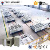 Linha de produção do painel de parede da máquina de fatura de tijolo de Tianyi/cinza de mosca