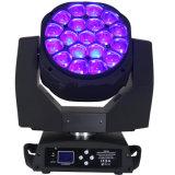 19PCS 15W träger-Summen-Disco-Wäsche-Licht des Bienen-Augen-LED bewegliches Haupt