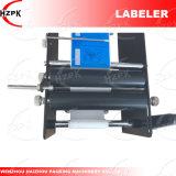 Máquina de etiquetado manual del rotulador de la botella redonda 2017 de China
