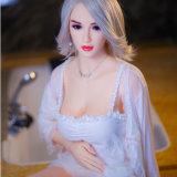 muñeca verdadera del amor del sexo de la TPE del silicón lleno de tamaño natural del 158cm con las muñecas del sexo del gatito de la vagina