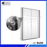 P10mm pleine couleur transparente mur de LED SMD affichage LED