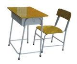 Современная школьная мебель в классе Стол письменный стол и стул студентов