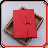 Taccuino su ordinazione del diario del coperchio del cuoio del contenitore di regalo