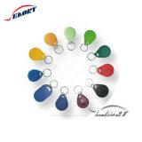 工場価格の高品質Tk4100 125kHz RFID Keytag/主Fob