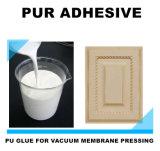 よい価格押す機械を形作る真空の膜のための速い乾燥したPUの接着剤