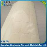 Nastro beige termoresistente della gomma di silicone del margine, nastro bianco del margine