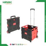 Pack et rouleau de pliage pliables en plastique Panier pratique avec le siège