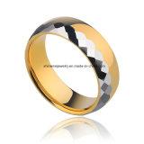 Het Gouden Lichaam van uitstekende kwaliteit Jewelry&#160 van het Wolfram; De Ring van het wolfram (TSTG008)