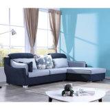 高いあと振れ止めが付いている極度の柔らかい部門別の角のソファー