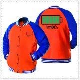 Оптовая торговля высокого качества 100% хлопок Мужская куртка бейсбол