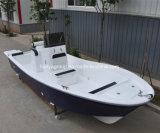 Barco del Panga de Liya los 5.8m para la fibra de vidrio del barco de pesca de la velocidad de la venta