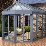高品質の庭の温室かガラス温室の温室または日曜日部屋または望楼