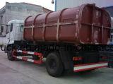 중간 의무 8t 10t 훅 상승 콘테이너 쓰레기 트럭
