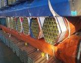 BS1387 Ondergedompeld heet Gegalvaniseerd om de Pijpen van het Staal met Ingepaste Einden & Plastic Kappen