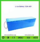18650 batteria di ione di litio del pacchetto 48V 12ah della batteria per i veicoli elettrici (EA48-12)