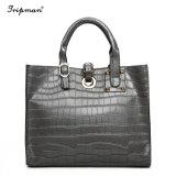 Тенденции моды Аллигатор женщин дамской сумочке верхней части ручки сумки