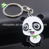 Netter Panda-fördernde Schlüsselkette