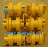 掘削機および下部構造の予備品のためのトラックローラーの鎖のローラー