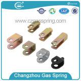 Suportes ajustáveis do gás
