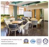 Комфортабельная гостиница ресторан со столом и стулом (YB-O-85)