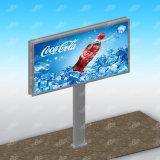 Carretera que hace publicidad de diseño al aire libre de la estructura de la cartelera de Ratating