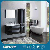 Moderne Wand hing Badezimmer-seitlichen Schrank Sw-1315