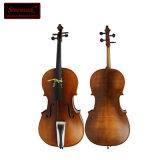 Hoch entwickeltes Cello mit Fleckgelber Brown-Ende für Verkauf