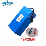 Haute puissance 18650 Pack de batterie au lithium-ion 48V 20Ah Batterie Li-ion