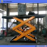 Heavy Duty Voiture de type ciseaux hydraulique de levage pour un garage