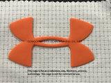 Injecção do molde de silicone Logotipo de Transferência de Calor para acessórios de vestuário