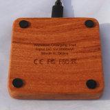 Carregador rápido sem fio padrão de Qi do Rosewood (X8-0007)