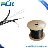 De Fibra Óptica FTTH/óptica monomodo Cable de caída de 2 núcleos de FTTH