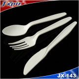4G Haut de la vente de la coutellerie en plastique blanc pour le dîner