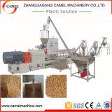 Granulación de madera de la biomasa que hace la máquina