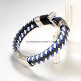 Bracelet de cuir de qualité de bijou de corps de l'usine directe (BL2869)