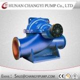 Pompe industrielle centrifuge de cas fendu pour l'asséchage et les eaux d'égout