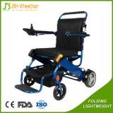 2017 sedie a rotelle motorizzate elettriche pieghevoli ultra chiare per gli handicappati