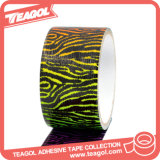 La decoración de la manera imprimió la cinta adhesiva, cinta del conducto del paño
