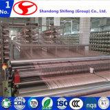 Especialización en telas industriales de los materiales del marco