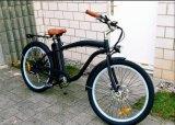 Vélo électrique de croiseur mâle vert bon marché de plage avec du ce, En15194